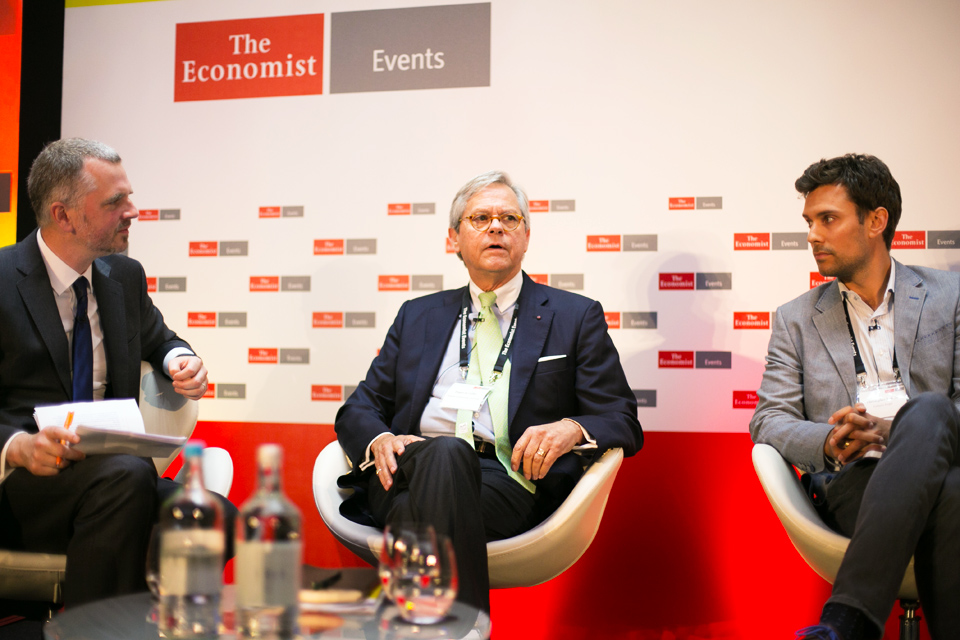 Pepper at the Economist magazine's International HR Conference in London.